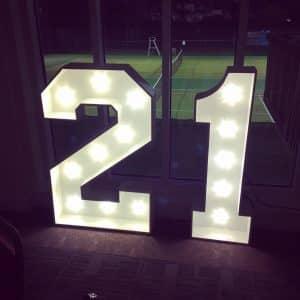 LED 21