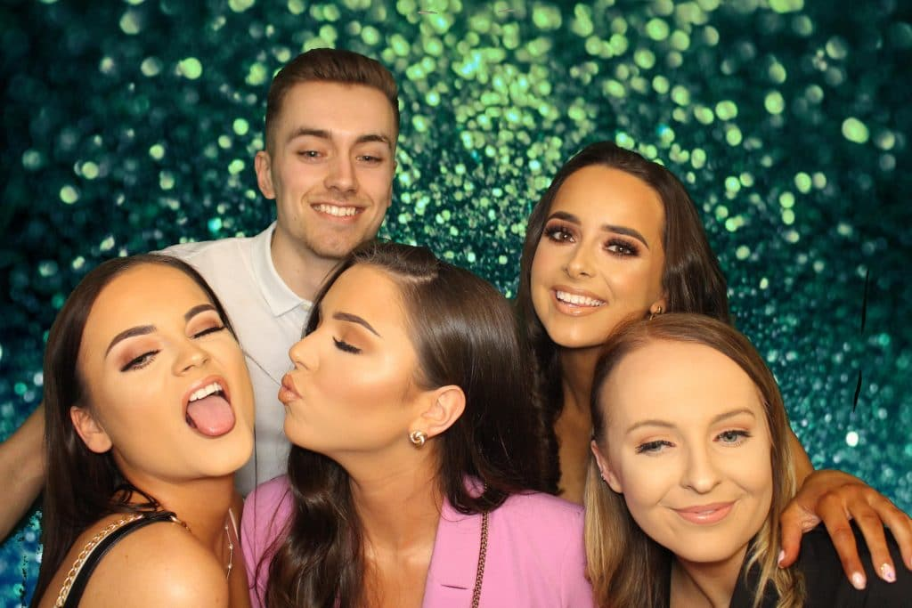 Group Selfie in Photo Booth